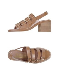 F Troupe Sandals Light Brown