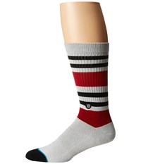 Stance Tailgate Grey Men's Crew Cut Socks Shoes Gray