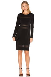 Fifteen Twenty Mesh Mini Dress Black