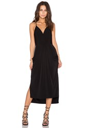 Bcbgeneration Crossover Midi Dress Black