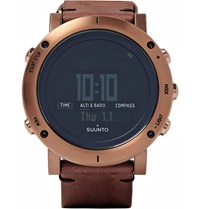 Suunto Essential Water Resistant Digital Watch Brown