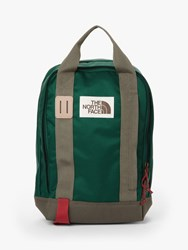 The North Face Tote Backpack Night Green New Taupe Green