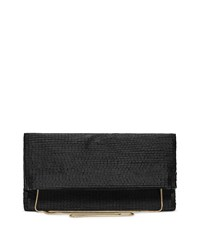 Reiss Nella Womens Beaded Evening Bag In Black