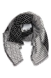 Madewell Women's Optic Patchwork Scarf