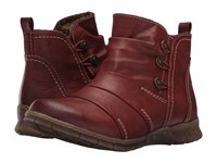 Spring Step Anatol Bordeaux Women's Dress Boots Burgundy