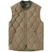 A.P.C. Bern Down Gilet Green
