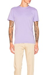 Our Legacy Perfect Tee In Purple