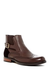 English Laundry Body Chelsea Wingtip Boot Brown