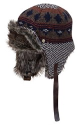 Men's Bickley Mitchell Faux Fur Trapper Hat