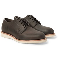Red Wing Shoes Postman Leather Derby Charcoal