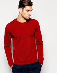 Hugo By Hugo Boss Jumper With Crew Neck Red