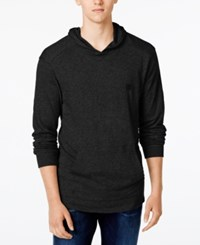 Tavik Men's Ronin Long Sleeve Hoodie T Shirt Black