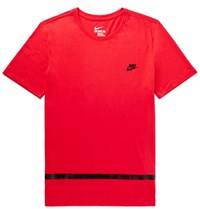 Nike Contrast Tried Jersey T Shirt Red