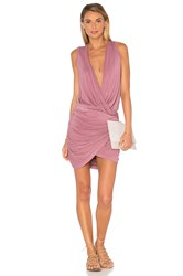 Young Fabulous And Broke Stacey Mini Dress Mauve