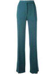 Marco De Vincenzo Straight Leg Trousers Green