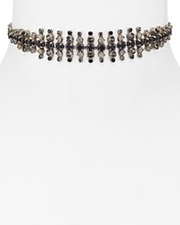 Sorrelli Swarovski Crystal Choker Necklace 12 Black Multi