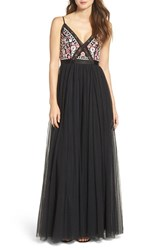 Needle And Thread Women's Prairie Embellished Tulle Gown