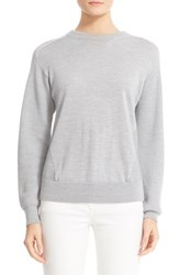 Belstaff Women's Samantha Rib Inset Merino Wool Blend Sweater