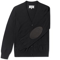 Maison Martin Margiela Maison Margiela 14 Elbow Patch Cardigan Black