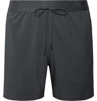 Nike Running Tech Pack Flex Perforated Dri Fit Shorts Gray