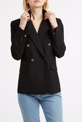 Helmut Lang Double Breasted Blazer Black