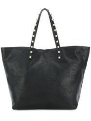 Red Valentino Studded Tote Black
