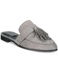 Kenneth Cole Reaction Women's Rain Down Tassel Mules Women's Shoes Charcoal