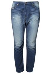 Diesel Eazee Relaxed Fit Jeans 0830W Destroyed Denim