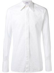Pierre Cardin Vintage Embroidered Shirt White