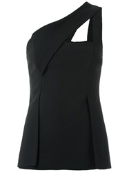 Giuliana Romanno Cut Out Details Blouse Women Polyester 38 Black