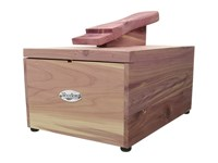 Woodlore Cedar Shoe Care Valet Natural Cedar Shoetrees Accessories Shoes Pink
