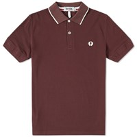Fred Perry X Nigel Cabourn Training Polo Red
