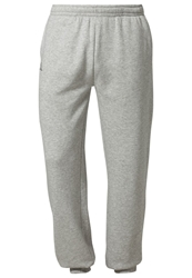 Kappa Romegius Tracksuit Bottoms Grey Melange Mottled Grey