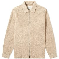 A Kind Of Guise Delon Zip Shirt Brown