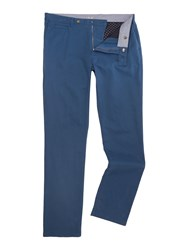 Linea Men's Russell Cotton Chinos Petrol
