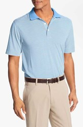 Men's Big And Tall Cutter And Buck 'Trevor' Drytec Moisture Wicking Golf Polo Atlas White