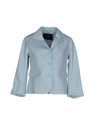 Seventy By Sergio Tegon Suits And Jackets Blazers Women Sky Blue