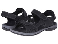 Vionic With Orthaheel Technology Mick Black Men's Sandals