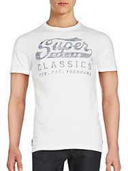 Superdry Classics Graphic T Shirt Optic