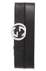 Gucci Men's Leather Belt Black