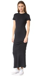 Zoe Karssen T Shirt Maxi Dress Pirate Black