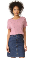 A.P.C. Aquarius T Shirt Rose