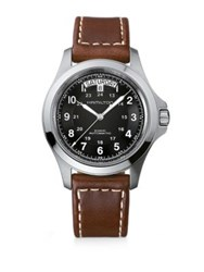 Hamilton Khaki King Automatic Stainless Steel Watch No Color