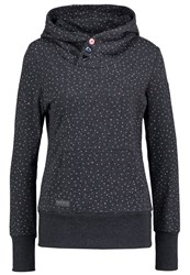 Ragwear Chelsea Sweatshirt Black Mottled Anthracite