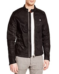 G Star G Star Raw Attacc Denim Slim Fit Jacket Black