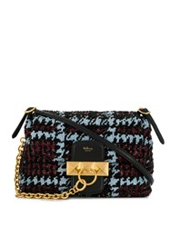 Mulberry Mini Keeley Houndstooth Sequins Blue