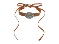 Leather Rock N226 Tobacco Necklace Brown