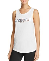 Spiritual Gangster Grateful Sport Tank White