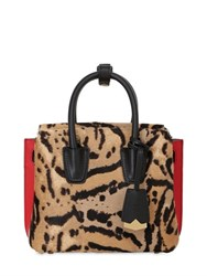 Mcm Mini Milla Animalier Shoulder Bag