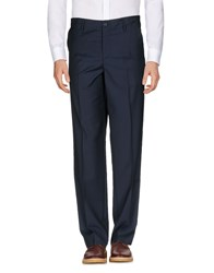 The Editor Casual Pants Dark Blue